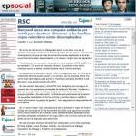 La campaña SMS solidario de Bancosol en Europa Press