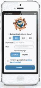 microdonativos por móvil para ONG y ENL