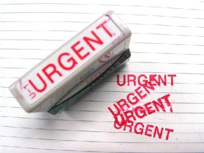 Notificaciones urgentes por SMS