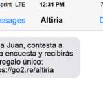 SMS efectivo